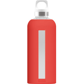 Sigg Star Glass Flaske 0,5l Scarlet